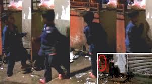 Un copil este atact de o fantomă