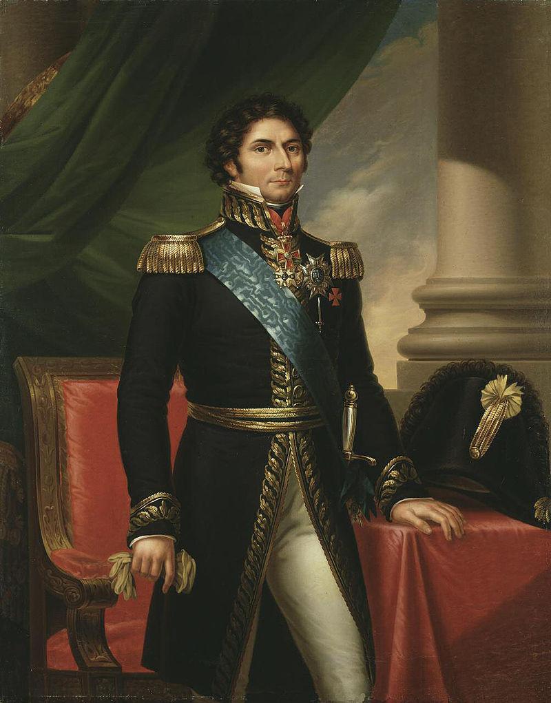 Jean-Baptiste Bernadotte, pictura de FredericWestin, sursa Wikipedia.