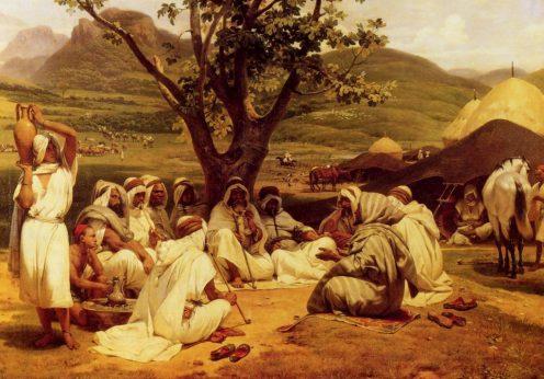 Horace_Vernet-Arab_Tale_Teller_1833