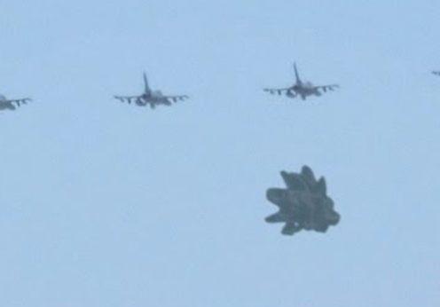 4 avioane militare si ozn