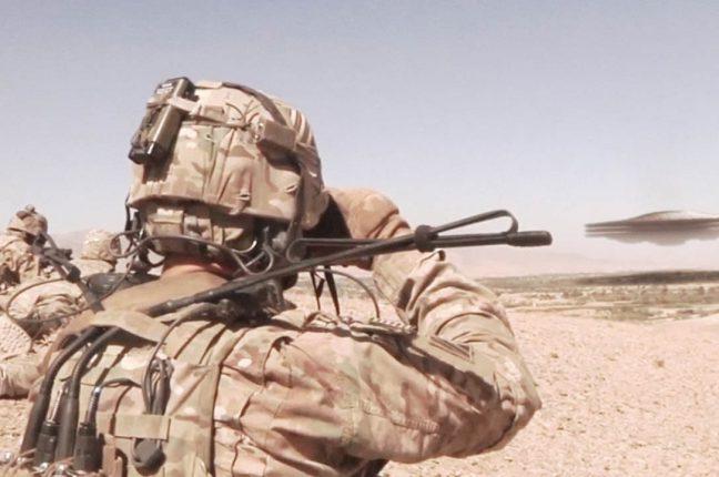 OZN  uriaş observat de soldaţii americani în Iraq