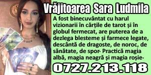 Banner 300x150 Vrajitoarea Sara Ludmila